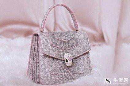 宝格丽梦幻紫蛇头包包回收价格高吗