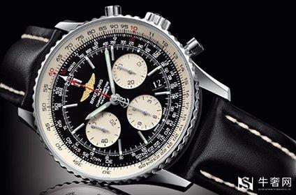 百年灵航空计时手表回收行情如何