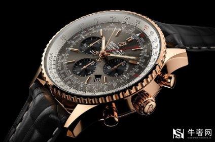 百年灵双追针计时45手表回收多少钱