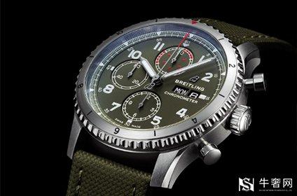 百年灵航空计时8手表回收多少钱
