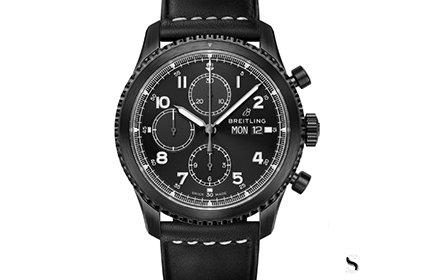 百年灵飞行员8系列M13314101B1X1手表回收几折