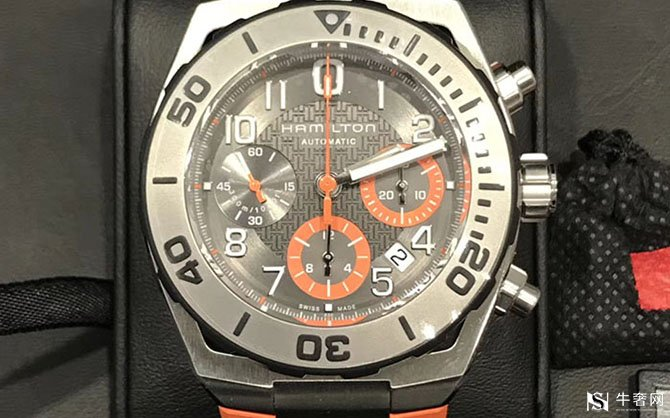 二手汉米尔顿卡其海军系列H78716983男款自动机械手表