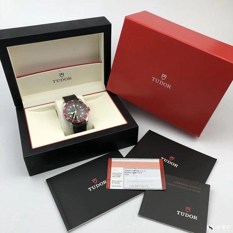 二手正品帝舵碧湾系列79220R小红花男款手表